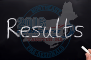 2016 Northeast Pre-Regional Results
