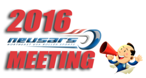 Announcement!!! Time & Place for 2016 NEUSARS Meeting